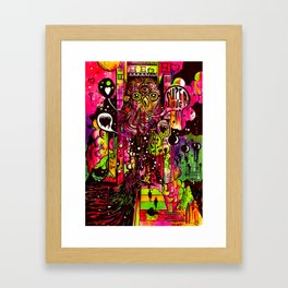 Superhug Framed Art Print