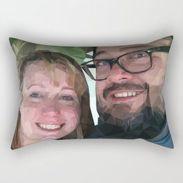 Camilea & John Rectangular Pillow