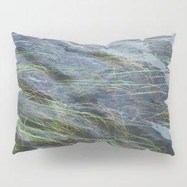LAKE GRASS AND WATER NATURAL ABSTRACT Pillow Sham