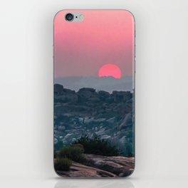 Otherworldly sunrise of Hampi, India iPhone Skin