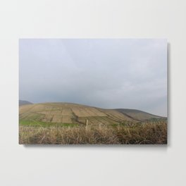 Famine Fields - Dingle Peninsula, Kerry, Ireland Metal Print