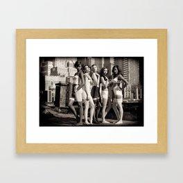 Vintage NYC Framed Art Print