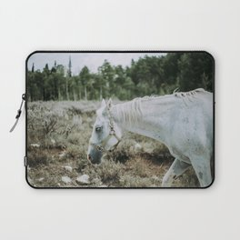 Walking Alone Laptop Sleeve