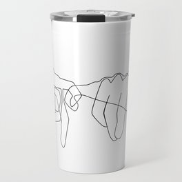Pinky Swear Travel Mug