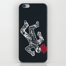 Crime Noir iPhone & iPod Skin