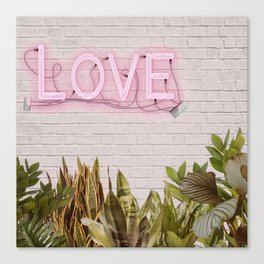 Love Sign Canvas Print