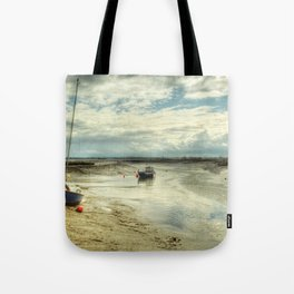 Three Little Boats Tote Bag