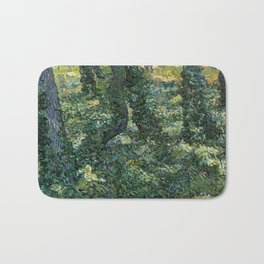 Vincent van Gogh - Undergrowth, 1889 Bath Mat
