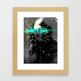 Erase my mind Framed Art Print