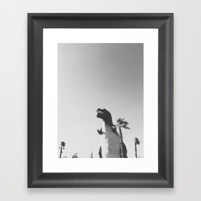 DINO / Cabazon Dinosaurs, California Gerahmter Kunstdruck