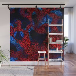 spider man pattern Wall Mural