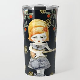 Floral Song Travel Mug