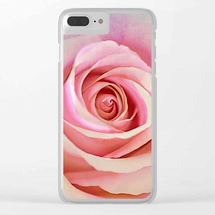 Romantic rose(8) Clear iPhone Case