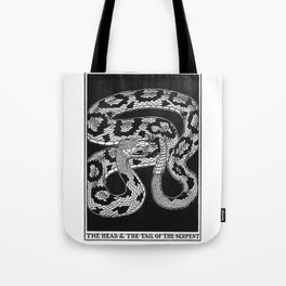The Head and Tail of the Serpent Tote Bag