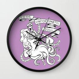 Poor Unfortunate Souls Pinup Wall Clock