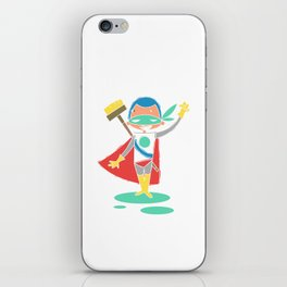 Super Hero 2 iPhone Skin
