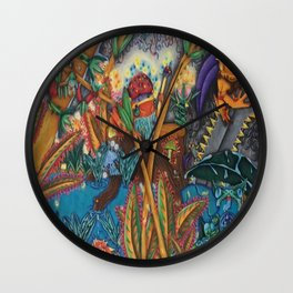 The Rising Darkness Wall Clock