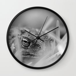 Devious Toad Wall Clock