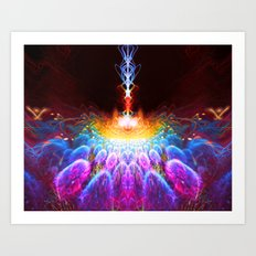 Infinite Introspection Art Print
