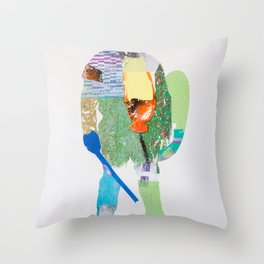 Defender Throw Pillow