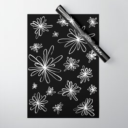 Energy Flowers Reverse Wrapping Paper