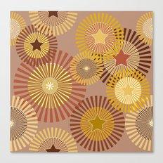 Sunflower Starflower Canvas Print
