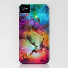 Floral Nebula iPhone (4, 4s) Slim Case