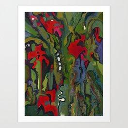 Offering to Xochiquetzal Art Print
