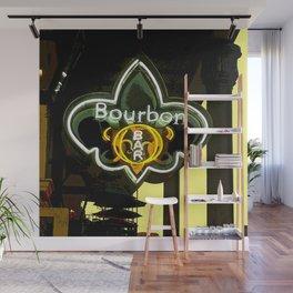 New Orleans Bourbon Street Bar Wall Mural