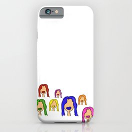 Colorful Characters iPhone Case