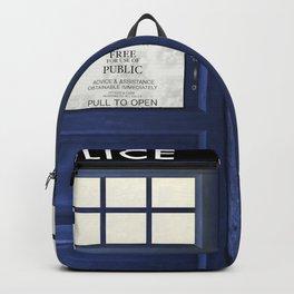 Tardis Doors Backpack