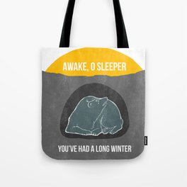 Awake O Sleeper Tote Bag