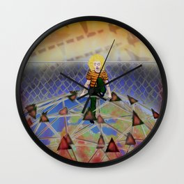 Top of the World Dream Wall Clock