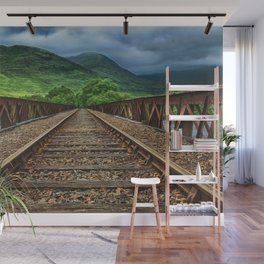 Railway in Scotland Wall Mural