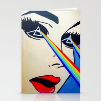 floyd Stationery Cards featuring Pink Floyd by Gabrielle Wall