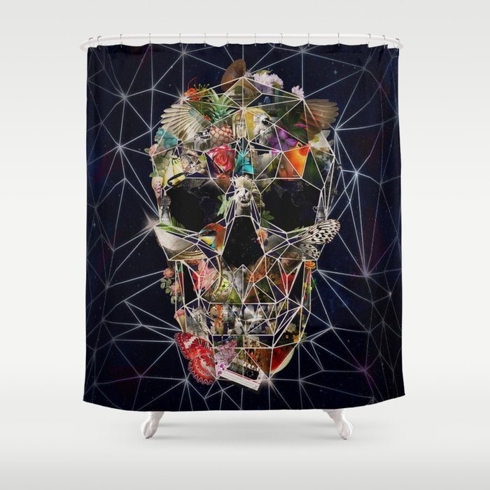 Fragile Skull Shower Curtain by aligulec | Society6