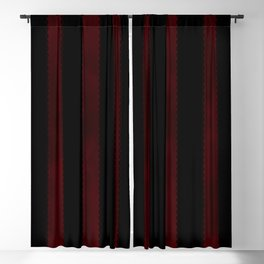 Gothic Stripes III Blackout Curtain