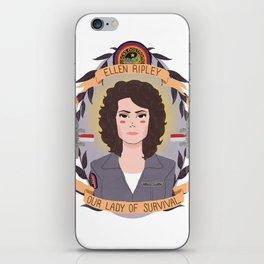 Ellen Ripley iPhone Skin