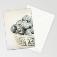 Blueberry Bowl Stationery Cards