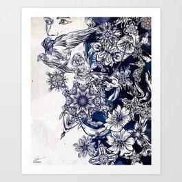 Settle Art Print