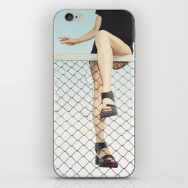 Hoping Fences iPhone Skin