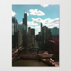 Chicago River View Canvas Print