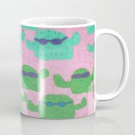 Cool Cactus Pattern Coffee Mug