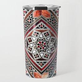 Syrian marquetry work traditional art Travel Mug