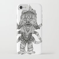 yeti iPhone & iPod Cases featuring Yeti by Guice Mann