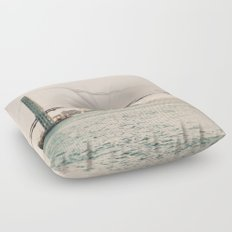 Travelers and Dreamers Floor Pillow