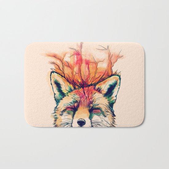 Fox Yeah! Bath Mat