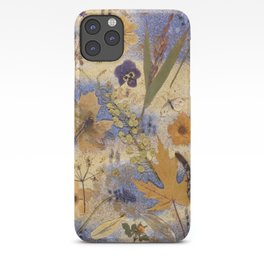 Woods and Dragonfly iPhone Case