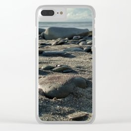 Crab's eye view Clear iPhone Case