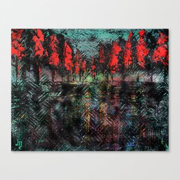 Urban Embers Canvas Print